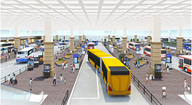 新バスターミナル(イメージ)