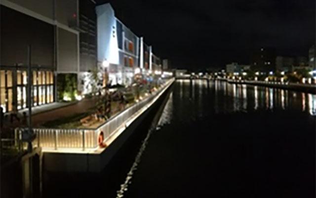 兵庫運河ライトアップ