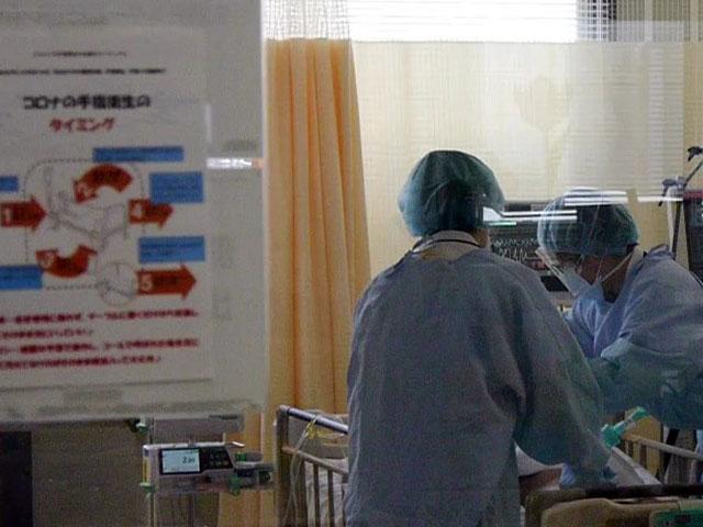 全国で初めてのコロナ重症者専用臨時病棟